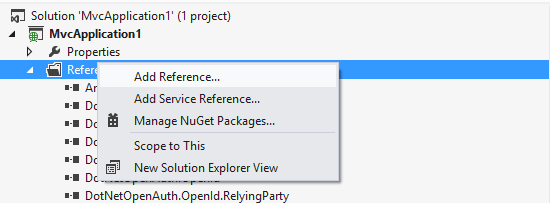 Visual Studio  NET | Highcharts NET
